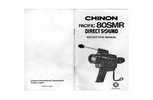 Thumbnail CHINON PACIFIC 80SMR SUPER 8 CAMERA MANUAL