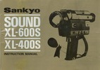 Thumbnail SANKYO SOUND XL-600S & XL-400S SUPER 8 CAMERA MANUAL